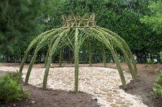 Living Willow Garden Decor Structure Patio