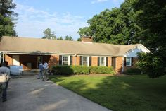 Painted Brick Houses | Before and After - the long and short of it