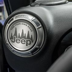Go from basic to customizing PRO with only minutes of time. Whether you want a speaker cover, some simple trim for your stereo or an eye catching accent to your A/C vents, we've got you covered. Jeep Jku, Jeep Rubicon, Jeep Wrangler Jk, Jeep Wrangler Accessories, Jeep Accessories, Interior Accessories, Jeep Wrangler Interior, Jeep Gear, Tiny Houses