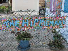 The hippiemarket a la Mola (Formentera)