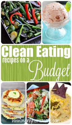 Looking for a change in your boring dinner menu? These clean eating recipes on a budget will add some flavor to dinner. Find new favorites to make family meal time memories. Clean Eating doesn't have to be boring or expensive.