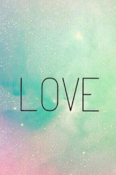 iPhone wallpaper // galaxy love