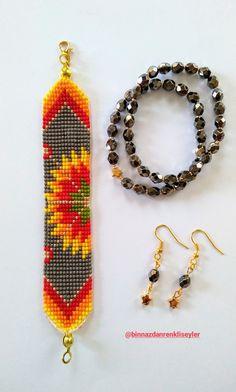 Loom Patterns, Beading Patterns, Bead Jewellery, Beaded Jewelry, Jewelry Illustration, Bead Loom Bracelets, Loom Beading, Jewelry Patterns, Perler Beads