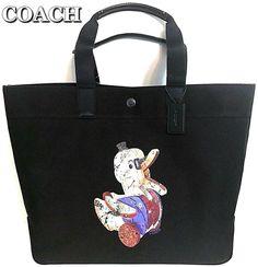 b1603a92e0da Details about COACH Tote Bag Doodle Duck Ltd Ed Fisher Price Large  Multipurpose Diaper NWT