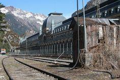 Estación de Canfranc. Huesca. Aragón.