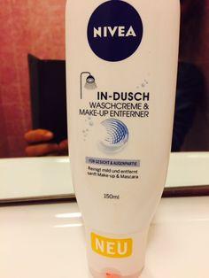 """Die Waschcreme eignet sich super zur Gesichtsreinigung. Ich benutze IN-Dusch aber nicht mehr nur in der Dusche sondern auch am Waschbecken - bestimmt geht das auch in Ordnung ;-). Die Haut fühlt sich angenehm an und der Duft ist dezent, angenehm. Und die Panda-Augen sind nach der Anwendung verschwunden ;-)   Danke """"NIVEA-Botschafter"""" das ich Nivea IN-DUSCH Waschcreme & Make-Up Entferner testen durfte."""