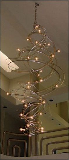 Lovely Large Spiral Crystal Chandelier Led Suspension Luminaire Lights For Living Room Chandelier Lighting Stairway Gold Led Chandelier Convenient To Cook Ceiling Lights & Fans
