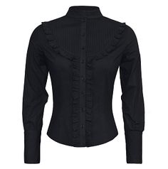 Sherry Lycra Cotton Gothic Shirt