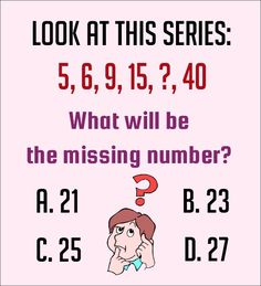 Solve If You Are Genius - Number Puzzles 7