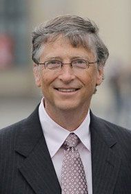 Bill Gates & The 50 Philanthropists Who Are Making Our World a Better Place. Microsoft, Bill Gates Steve Jobs, People Of Interest, Influential People, Rich People, Famous Faces, Change The World, Role Models, Famous People