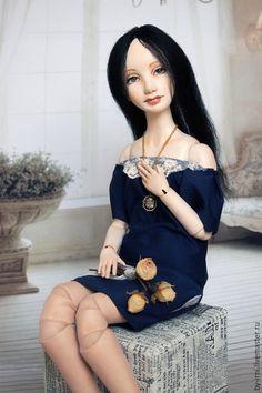 Шарнирная кукла Анна