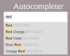 Autocompleter –  Customisable Autocomplete Plugin with Cache Support  #jQuery #autocomplete #autosuggest #cache