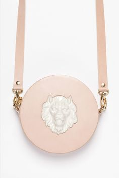 Image of LION ROUND BAG by Andres Gallardo
