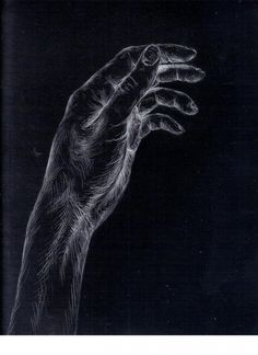 A_431_White_Charcoal_Drawing_of_a_Hand_on_Black_Paper_by_Eric_Oberhauser_January_-_February_1999.101114217_std.jpg (800×1100)