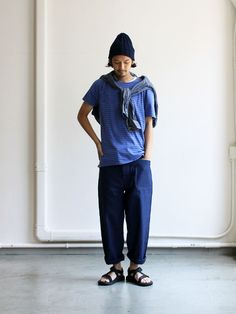 IDEA/NOTE : pant and pocket style/pattern -- A VONTADE Hostital Easy Pants Strato