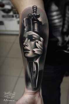 Tatouage réalisé par Alex Pancho