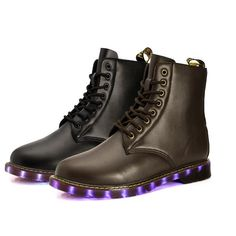 Light Up Shoes Fashion Flash Leather Boots  USB Charging LED Light Up Shoes Fashion Flash Leather Boots  USB Charging LED Shoes #ledshoes #lightshoes #lightup #ledboots #lightboots #lightwear #ledwear #ledlife #ledclothing | eBay https://www.ebay.com/itm/Light-Up-Shoes-Fashion-Flash-Leather-Boots-USB-Charging-LED-Shoes/263378032717?hash=item3d528dd84d:g:XvMAAOSwK~RaLChh&utm_content=buffer52f43&utm_medium=social&utm_source=pinterest.com&utm_campaign=buffer| eBay