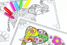 Free coloring pages for adults...love them!