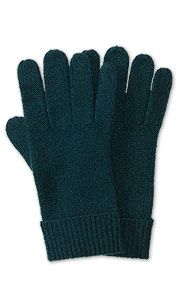 Handschoenen in donkergroen