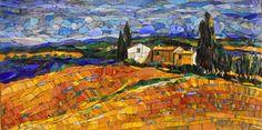 Мозаичная картина Поля Кастилии