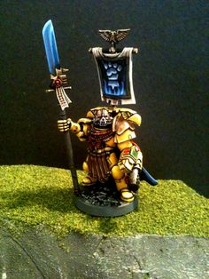 Fists, Imperial Fists, Space Marines, Vulkan, Warhammer 40,000, Yellow