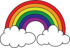 Rainbow Birthday Party, Rainbow Theme, Rainbow Baby, Rainbow Snacks, Unicorn Birthday, Drawing For Kids, Art For Kids, Crafts For Kids, Rainbow Clipart