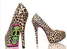 MI SVICERO: Moda + arte: Sapatos customizados com grafite!