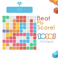 Beat my score! #1010game http://1010ga.me