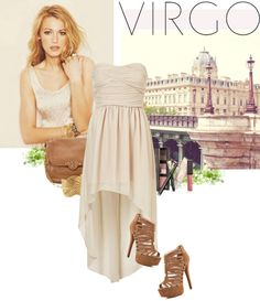 """Virgo"" by auzziea on Polyvore"