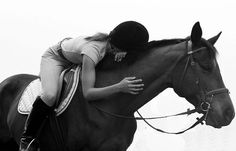 A horse is a lifelong long friend. When you trust eachother the relationship is unbreakable.