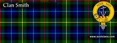 Clan Smith Tartan and Crest    http://www.scotclans.com/scottish_clans/clan_smith/
