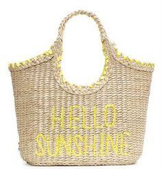 I do ♥ Kate Spade summer beach bags!
