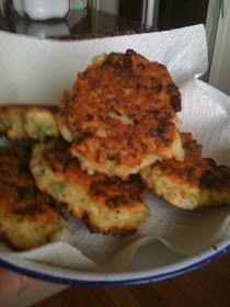 Magnolia Verandah: Cauliflower fritters