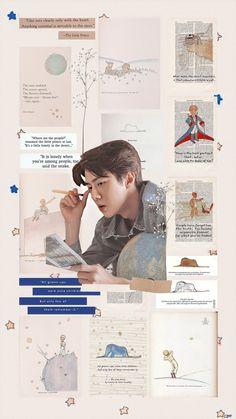 sehun & little prince. Sehun Hot, Chanyeol, Aesthetic Filter, Kpop Aesthetic, Aesthetic Pastel Wallpaper, Aesthetic Wallpapers, Iphone 7 Plus Wallpaper, Wallpaper Art, Exo Anime