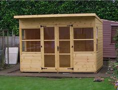 Tailor made pent roof Summerhouse