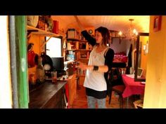 <3 Gypsy Wagon/Tiny House Tour in Germany (Recycled/Dumpster Dived) <3