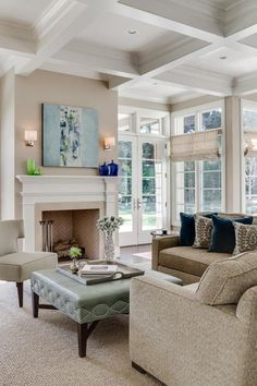Atherton Estate   Traditional   Family Room   San Francisco   KL Interiors:  Benjamin Moore Manchester Tan Paint On Walls