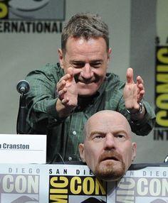 PsBattle: Bryan Cranston setting down his Heisenberg mask