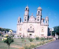 IglesiaSantuario de Los Milagros. Baños de Molgas. Orense. Galicia. España.