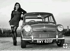 Classic Cars British, Classic Mini, British Car, John Cooper Works, Mini Cooper Clasico, Mini Morris, Pin Up Car, Mini Cooper S, E Type