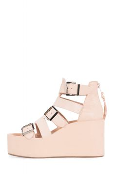Jeffrey Campbell Shoes THETIS Shop All in Natural