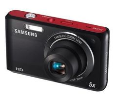 "Samsung DV50 Dualview 16 MP 5X Opt Zoom Digital Camera Black 2.7"" LCD Screen from Samsung $99.91 - Samsung DV50 Dualview 16 MP 5X Opt Zoom Digital Camera Black 2.7 LCD Screen  Includes DV50 digital camera, lithium ion battery, 4GB micro SD card, and quick-start guide16 megapixels, 1/2.3 CCD sensor, TTL auto focus4.7 to 23.5mm zoom lens, 1.5 diagonal front screen,... Photography Gifts, Photography Courses, Photography Equipment, Samsung, Camera Deals, Fb Like, Perfect Camera, Gifts For Photographers, Zoom Lens"