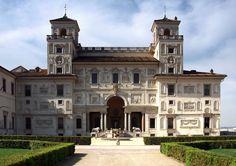 Palacio Villa de los Medici. Roma Italia