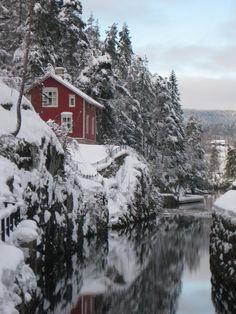 Telemarkskanalen, Norway