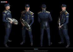 Mass Effect 3 Characters   hackett mass effect 3 admiral hackett character from mass effect 3 ...