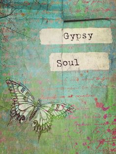 """""""Gypsy Soul"""" by Ally Coxon on Displate Pack Up And Go, 10 Tree, Vintage Typography, Gypsy Soul, Poster Making, My Happy Place, Cool Artwork, Projects To Try, Collage"""