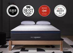 Shop the Helix Midnight LUXE   Premium Medium Mattress Pressure Relief – Helix Sleep Old Mattress, Best Mattress, Mattress Dimensions, Hybrid Design, Mattress Protector, Quilted Pillow, Keep Your Cool