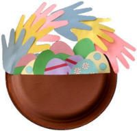Cool Easter Egg Craft! I'm doing it this week in my Preschool Class :)