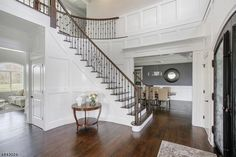 91 DOCK WATCH HOLLOW RD Warren, NJ 07059  $1,899,000 Beds 6  Baths 6.1 New Home. Call Rohini Agarwal 908-300-6802 Staircase Ideas, New Construction, Baths, House Ideas, New Homes, Stairs, Real Estate, Interiors, Luxury