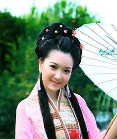 Китайский национальный головной убор, прически, украшения
